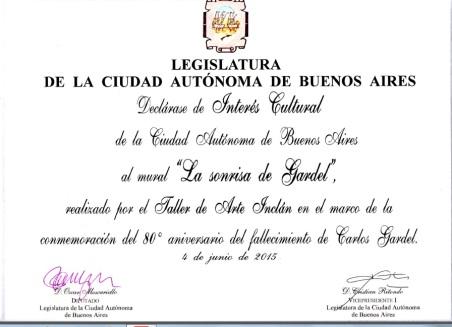 Legislatura Porteña Interés Cultural (1)