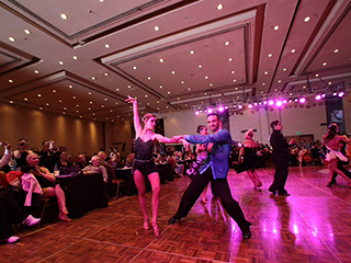 Mora Sanchez ballroom show