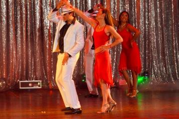 Alumnos de Salsa Mora Noel y Martin