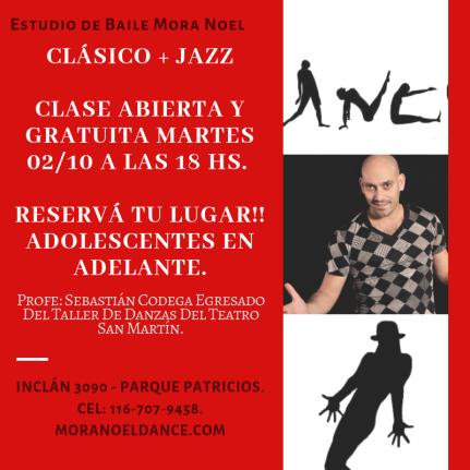 clasico + jazz estudio mora noel profe sebastian codega